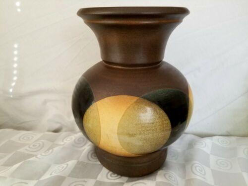 Pottery Craft USA Drip Glaze 13 Vase Robert Maxwell Mid Century Danish Modern - $224.95