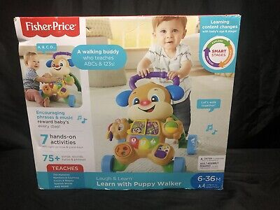 Fisher-Price Laugh & Learn Smart Stages Learn with Puppy Walker 6 to 36 Months
