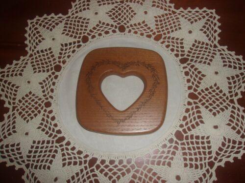 KS Lanam Wooden Laser Cut Tissue Lid fits Longaberger Small Spoon Basket