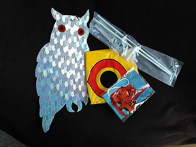 BirdBusters Bird & Woodpecker Scare Kit, Scare Away Unwanted Woodpeckers!