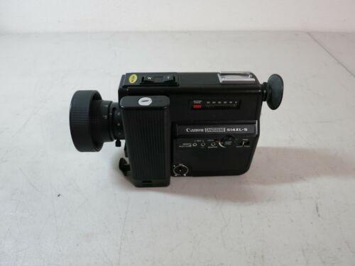 Vintage Canon 514XL-S Canosound Super8 8MM Movie Camera READ DESCRIPTION