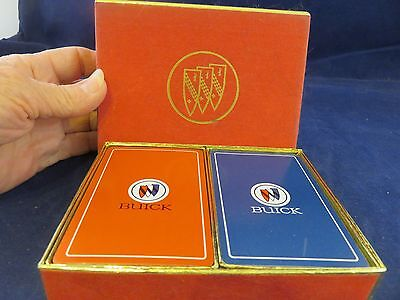 Buick Auto Double Card Deck Red & Blue (970)