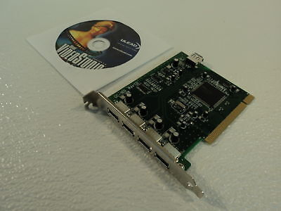 Best Ports PCI Multimedia Firewire Card 1394a 4 Port