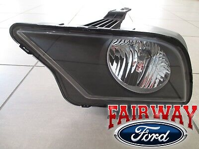 Shelby Gt500 Lamp - 07 thru 09 Mustang SVT Shelby GT500 OEM Ford Halogen Head Lamp Light LEFT DRIVER