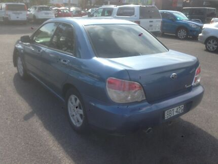 2006 SUBARU IMPREZA SEDAN ROOF AND LEATHER MAKE AN OFFER!!! Queanbeyan Queanbeyan Area Preview