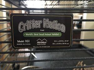 Single Unit Critter Nation Cage with Stand + Accessories