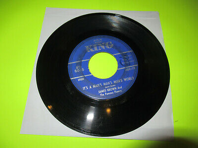 JAMES BROWN ITS A MAN'S MAN'S MAN'S WORLD / IS IT YES OR IS IT NO  45 (James Brown Its A Mans Mans World)