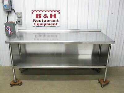 72 X 30 Stainless Steel Heavy Duty Work Table Kitchen Cabinet 6