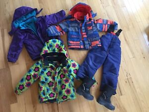Boys and girls winter gear
