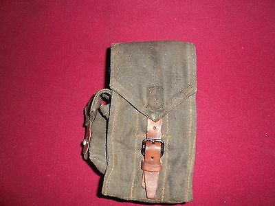 AK-47 magazine pouch - 3 cell 20 round - Vintage Military Surplus - Hungarian