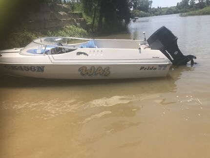 Speed boat ready for fun swap for quad or 450 Mount Druitt Blacktown Area Preview