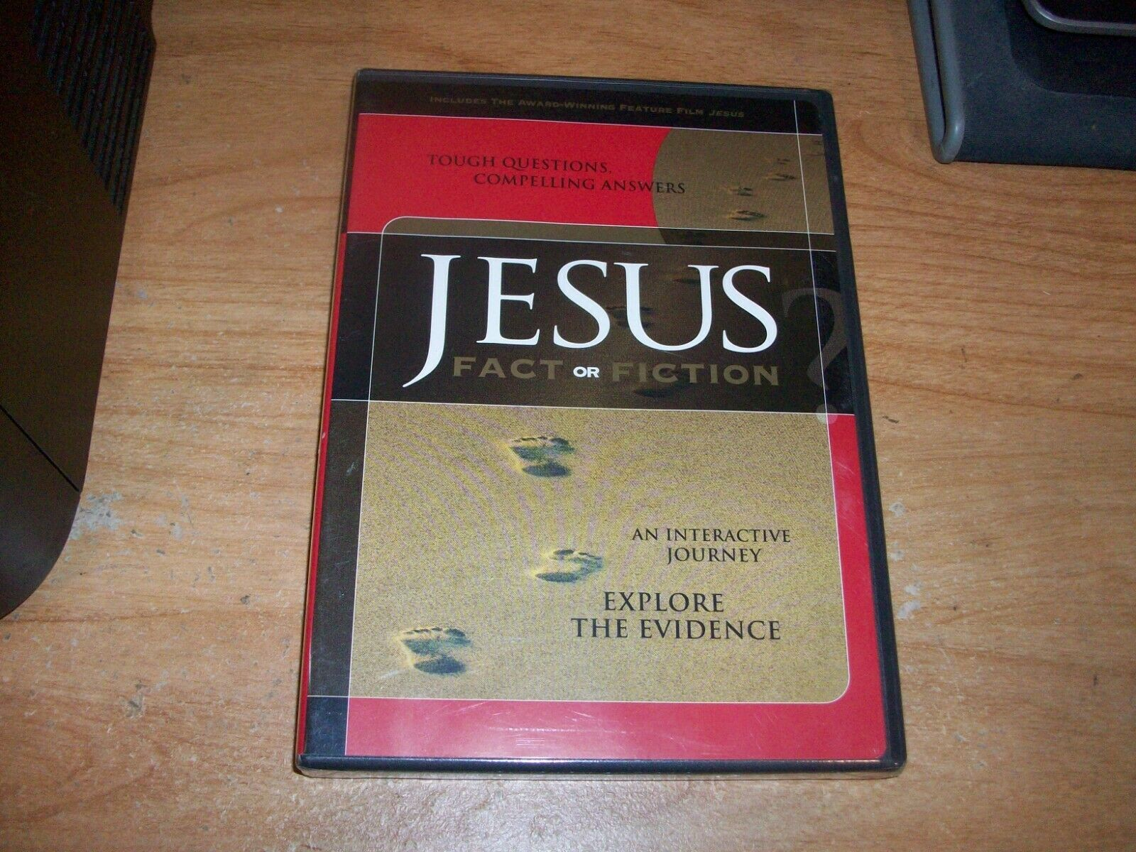 Jesus Fact Or Fiction DVD 2003 An Interactive Journey - $6.99