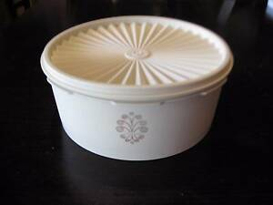 VINTAGE Retro Tupperware SERVALIER PRESS SEAL Biscuit Cookie Cake Haberfield Ashfield Area Preview