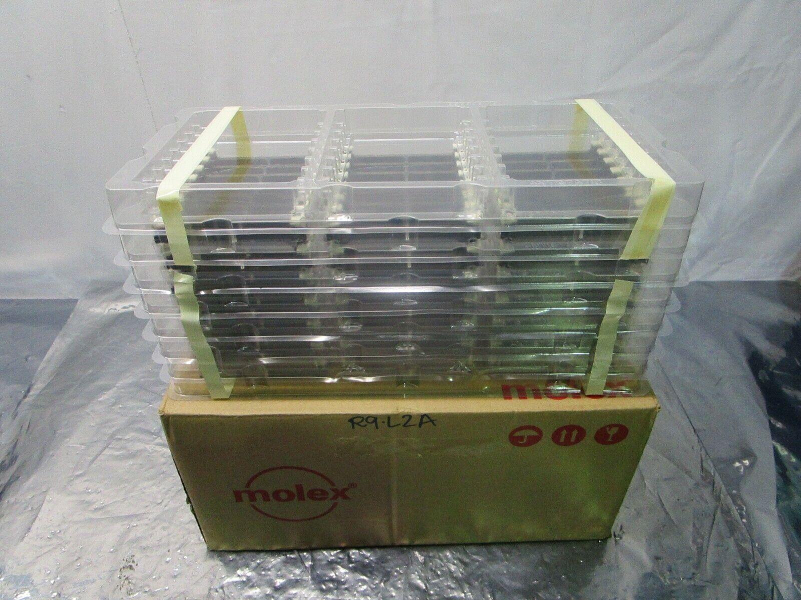1 Lot of 168 Molex 0877822001 0.60mm MiniDimm Assy. 76AuLF 244Ckt, 101981