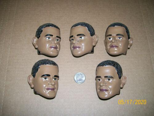 Lot of 5 -- Barack Obama Heads