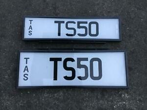 Ford TS50 prestige personalised number plates