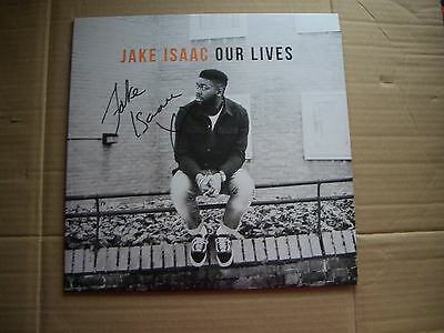 JAKE ISAAC - OUR LIVES - SIGNED / AUTOGRAPHED VINYL LP - NEW AND UNPLAYED