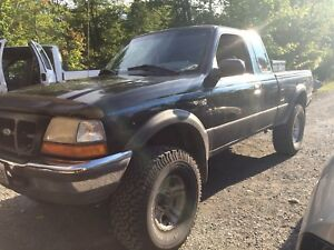 1998 4L v6 Ford Ranger 4x4 part out
