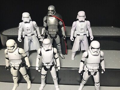 Star Wars First Order Captain Phasma Snowtrooper Trooper Lot army builder