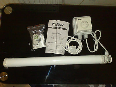 GROW ROOM / TENT / GREENHOUSE 120W HEATER & FROST STAT.  Anti-FROST THERMOSTAT