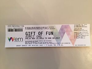 "West Edmonton Mall ""Gift of Fun"" Admission"
