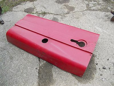 International 460 Utility 460u Ihc Ih Tractor Engine Motor Hood Cover Panel