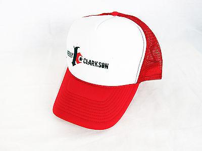 Kelly Clarkson Trucker Snapback Logo Mesh Cap Hat, NEW, NOS OOP, ADJUSTABLE