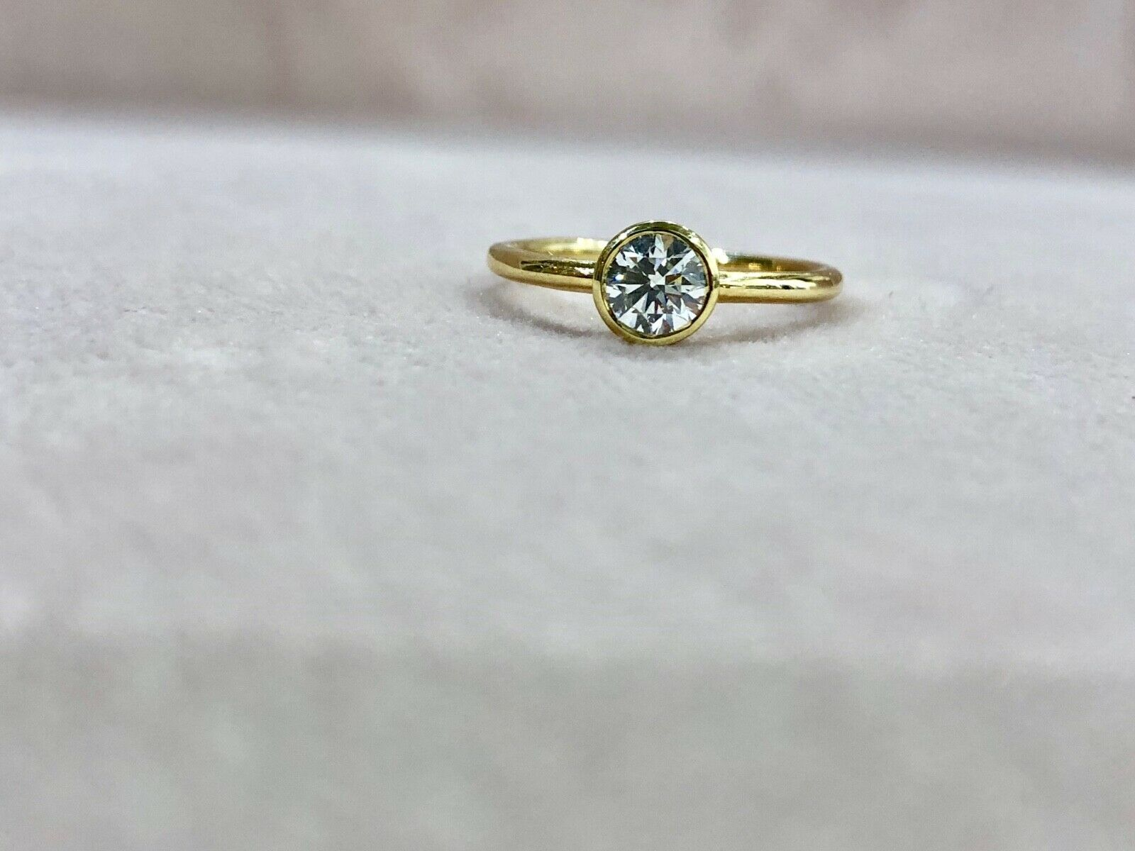0.50ct NATURAL GIA CERTIFIED DIAMOND ENGAGEMENT RING D COLOR VS1