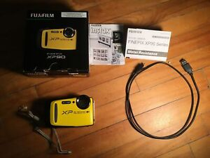 Fujifilm finepix xp90 appareil photo (jaune) waterproof