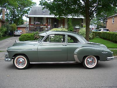1950 CHEVROLET DELUXE SPORT COUPE