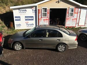 2005 Civic four door and automatic
