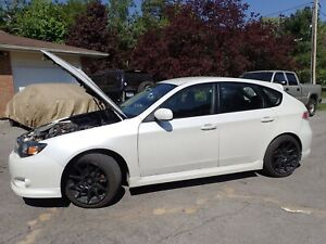 08 Subaru Impreza WRX Hatchback 5spd AWD, turbo.