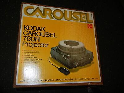 Kodak Carousel Slide Projector 760H Nice Working with Stack Loader