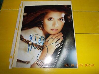 Debra Messing Signed Beautiful Photograph