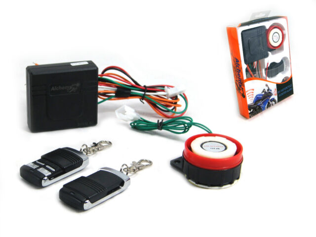 12v Compact Alarm - Fits ALL Motorcycles Scooters Quad Bikes Easy install.