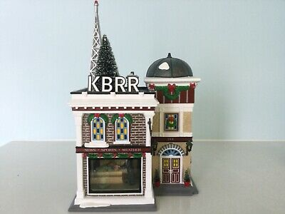 Dept 56 Snow Village-KBRR TV-#55337 MIB Retired 2005 Free Shipping