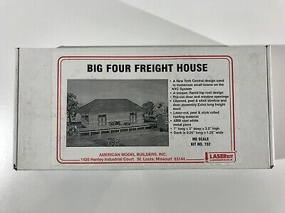 American Model Builders HO Scale Kit No. 152 Big Four Freight House