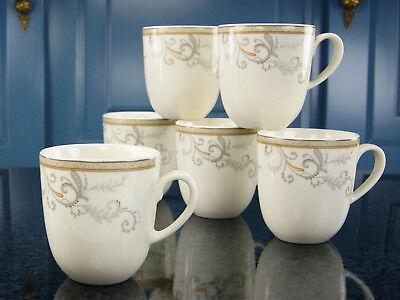 6 Becher Set (Villa Medici Kaffeebecher Set Geschirrset Porzellan 6 Person Creatable 17804 GB)