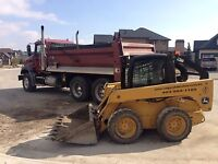 Bobcat Services / Dumptruck / Landscape construction