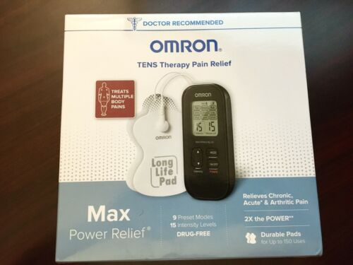 Omron PM500 MAX Power Relief Electro Therapy Tens Device NEW SEALED - $24.00