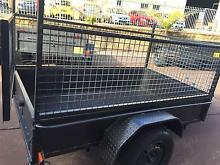 7X4 LOW SIDE 600MM CAGE HEAVY DUTY 12 MONTHS PTIV REGO $1250 Camden Area Preview