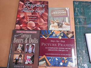 Craft books four assorted titles Riverglades Murray Bridge Area Preview