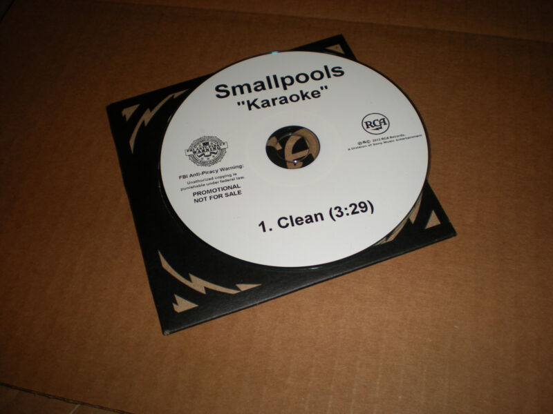 Smallpools Karaoke 1 track CD SINGLE clean 3:29