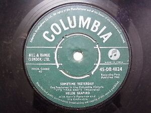 HELEN-SHAPIRO-45-DB-4824-GREEN-RARE-SINGLE-7-45-RPM-INDIA-INDIAN-VG