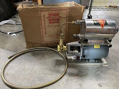 Liquid Carbonic Liqui-jet Carbonator Procon Pump Century Motor