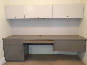 Large built in desk, Interfar brand, good condition. Breakfast Point Canada Bay Area Preview