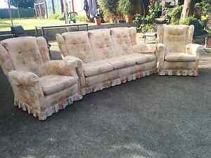 3 piece seatee with ottoman Eden Hill Bassendean Area Preview