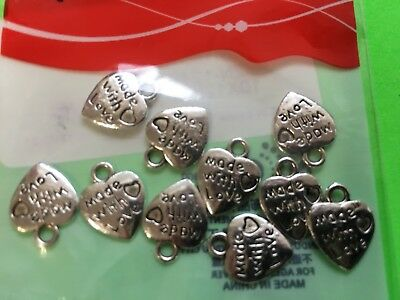 CHARMS hearts identical DIY fun gift idea party favor heart valentine #A15](Valentines Party Ideas)