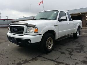2008 FORD RANGER SUPER CAB, EXCELLENT CONDITION, ONLY 95,000 KM!