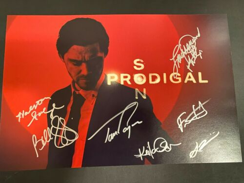 PRODIGAL SON SIGNED PHOTO 12X18 TOM PAYNE AUTOGRAPH BELLAMY YOUNG HALSTON SAGE 1